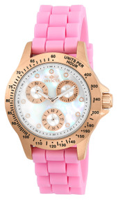 Invicta Women's 21993 Speedway Quartz Chronograph White Dial Watch