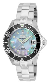 Invicta Women's 22030 Pro Diver Automatic 3 Hand Platinum Dial Watch
