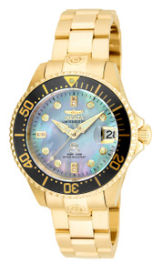 Invicta Women's 22034 Pro Diver Automatic 3 Hand Platinum Dial Watch