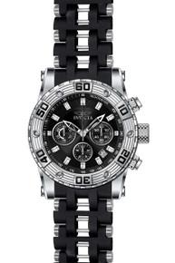 Invicta Men's 22086 Sea Spider Quartz Chronograph Black Dial Watch