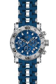 Invicta Men's 22087 Sea Spider Quartz Chronograph Blue Dial Watch