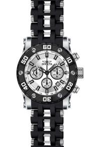 Invicta Men's 22089 Sea Spider Quartz Chronograph Silver Dial Watch
