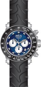 Invicta Men's 22137 Reserve Quartz Chronograph Blue, White Dial Watch