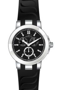 Invicta Men's 22207 Ceramics Quartz Chronograph Black Dial Watch