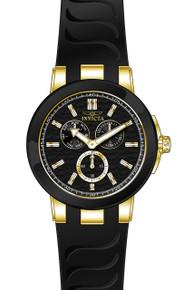 Invicta Men's 22209 Ceramics Quartz Chronograph Black Dial Watch