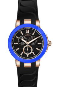 Invicta Men's 22210 Ceramics Quartz Chronograph Black Dial Watch