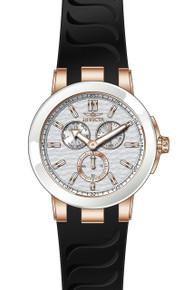 Invicta Men's 22212 Ceramics Quartz Chronograph Silver Dial Watch