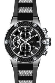 Invicta Men's 22400 Speedway Quartz Multifunction Black Dial Watch