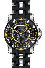 Invicta Men's 22473 Sea Spider Quartz Chronograph Black Dial Watch