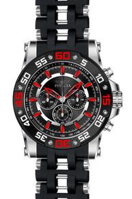 Invicta Men's 22474 Sea Spider Quartz Chronograph Black Dial Watch