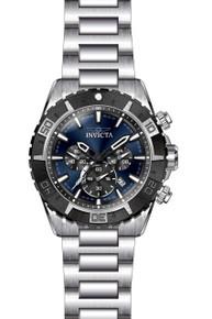 Invicta Men's 22526 Aviator Quartz Multifunction Blue Dial Watch