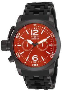 Invicta Men's 80053 Sea Spider Quartz Multifunction Red Dial Watch
