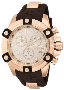 Invicta Men's 80364 Reserve Quartz Chronograph Rose Gold Dial Watch