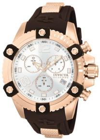 Invicta Men's 80365 Reserve Quartz Chronograph Silver Dial Watch