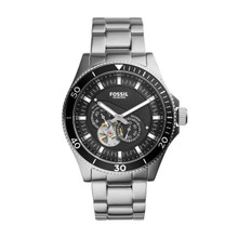 Fossil Wakefield Automatic Stainless Steel Watch