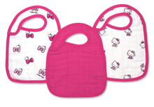Hello Kitty® Snap Bibs snap bibs 3 Pack by Aden and Anais