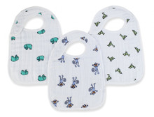Jungle Jam Snap Bibs snap bibs 3 Pack by Aden and Anais