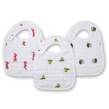 Mod About Baby Snap Bibs snap bibs 3 Pack by Aden and Anais