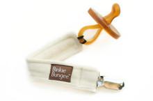 z-daisy organic binkie bungee natural