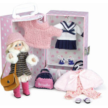 Petitcollin - Camille's Day - Doll in Suitcase