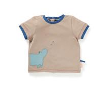 Moulin Roty Olan hippo t-shirt