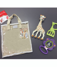 Sophie the Giraffe Cotton gift bag