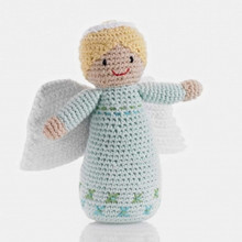 Pebble Angel Baby Rattle