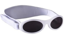 Baby Banz Adventure Banz Sunglasses Ages Arctic White
