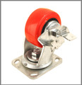 "Xtra Heavy Duty Caster / 4"" (100mm) / Swivel / With Brake"