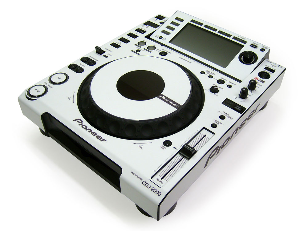 how to get pioneer cdj to play through
