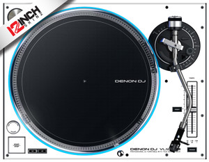 Denon VL12 Turntable Skinz (PAIR) - Colors