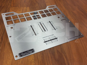 Pioneer DJM-S9 Stainless Steel Fader Plate (LIMITED EDITION)
