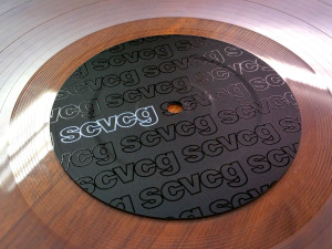 Control Vinyl Labels - SCVCG Matte Black (PAIR)