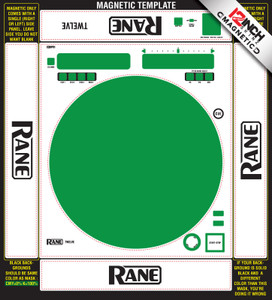 Rane  Twelve Skinz Custom (SINGLE) - MAGNETIC