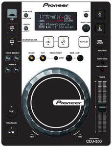 Pioneer CDJ-350 - Black