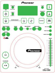 Pioneer CDJ-350Skinz (PAIR) - CUSTOM
