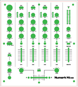 Numark M6 Skinz - CUSTOM