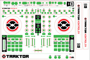 Native Instruments Kontrol S4 Skinz - CUSTOM