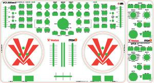 Vestax VCI-300MK2 / VFX1 Skinz - CUSTOM