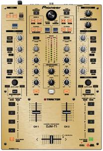 Pioneer DJM-T1 Skinz - Metallics