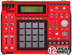 Akai MPC2500 Skinz - COLORS