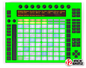 Akai Push Skinz - UV Fluorescent