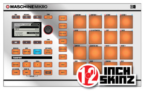 Native Instruments Mikro MK1 Skinz - Metallics