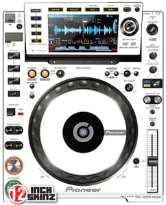 Pioneer CDJ-2000NEXUS Skinz (PAIR) - COLORS