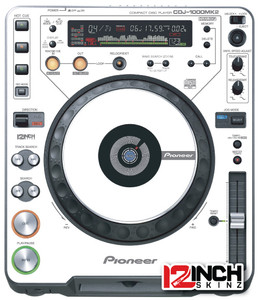 Pioneer CDJ-1000MK2 Skinz (PAIR) - Colors