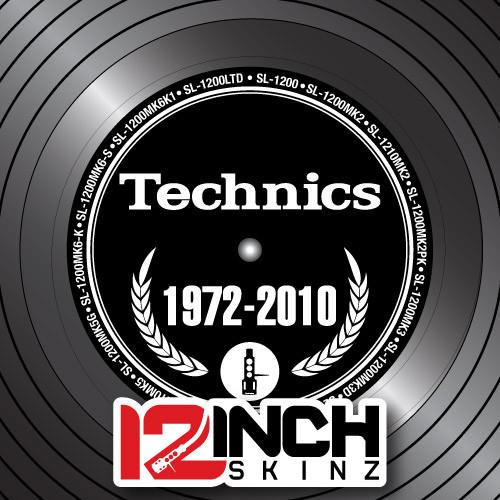 Control Vinyl Labels - Technics Generations