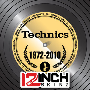 Control Vinyl Labels - Technics Generations (Metallics)