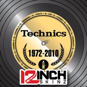 Control Vinyl Labels - Technics Generations (Metallics)