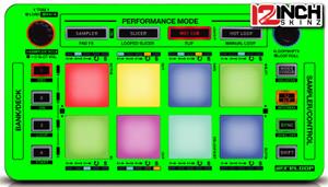 Reloop Reloop Neon SKinz 12inchSkinz #0: neon UV green 12inchskinz 300 300 c=2