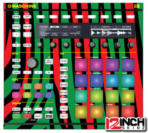 Native Instruments Maschine MK2 Skinz - Midnight Maschine